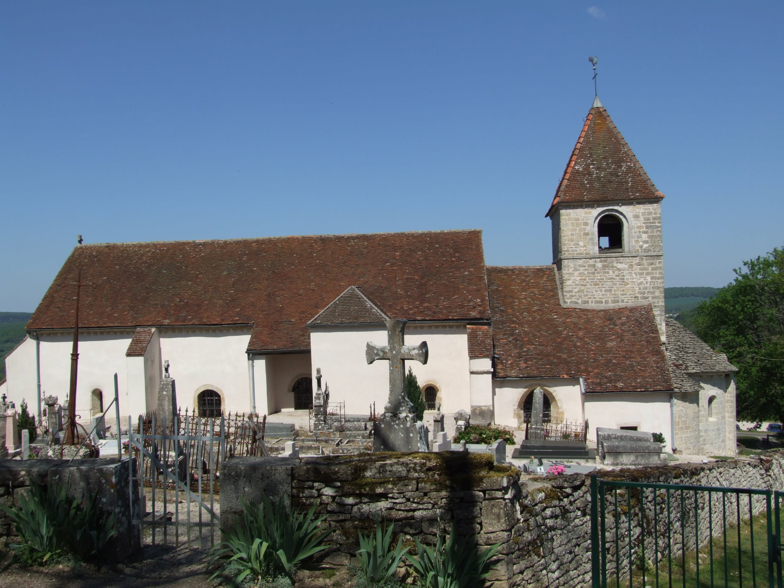 Reulle-Vergy, église en péril