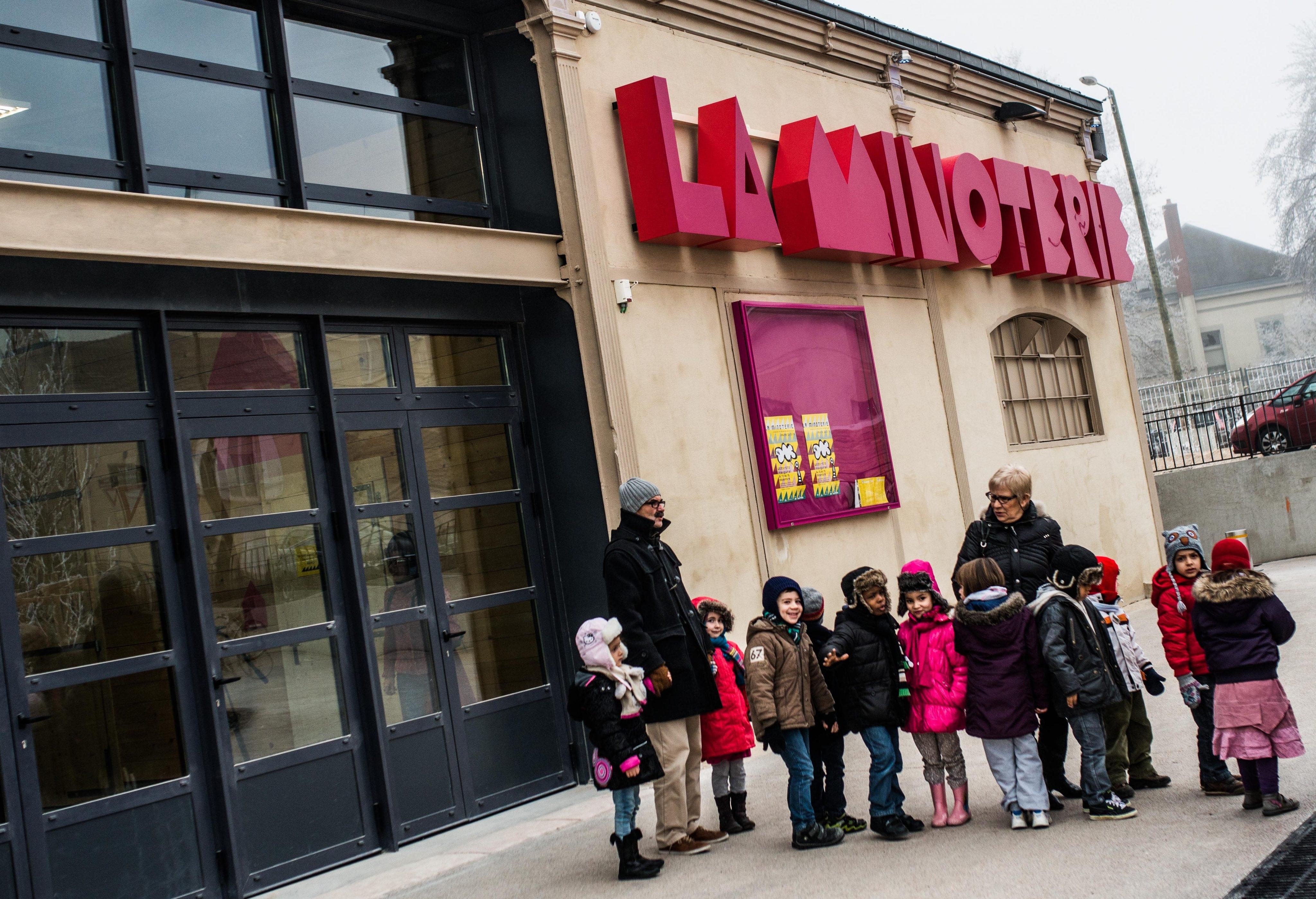 Dijon, le pari jeune public de la Minoterie