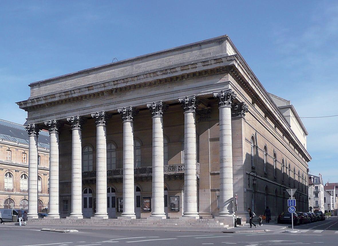 Grand théâtre de Dijon: faste et lyrique