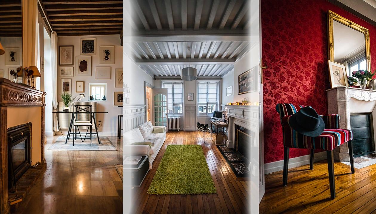 Les beaux intérieurs de Beaune et Dijon