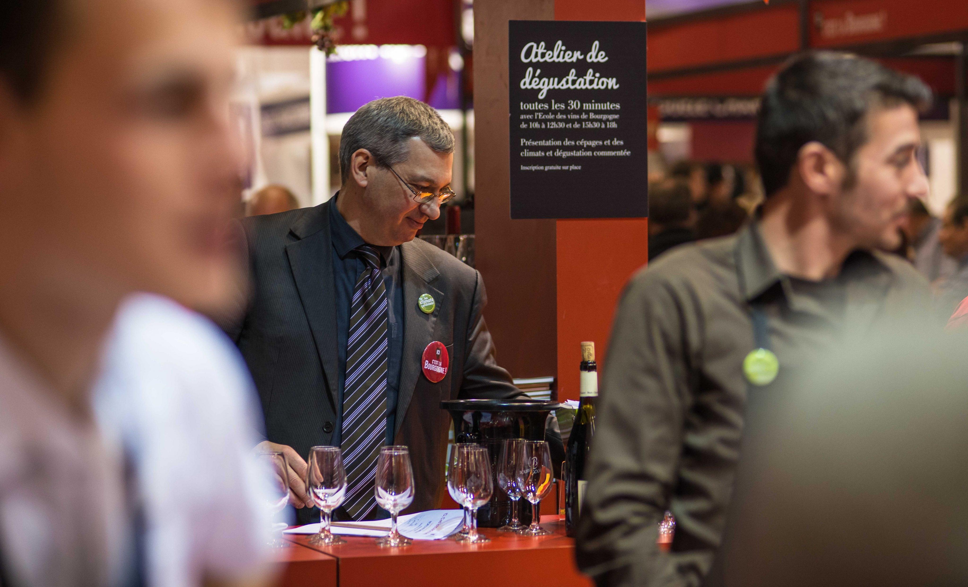 La Bourgogne fait de Paris sa cave