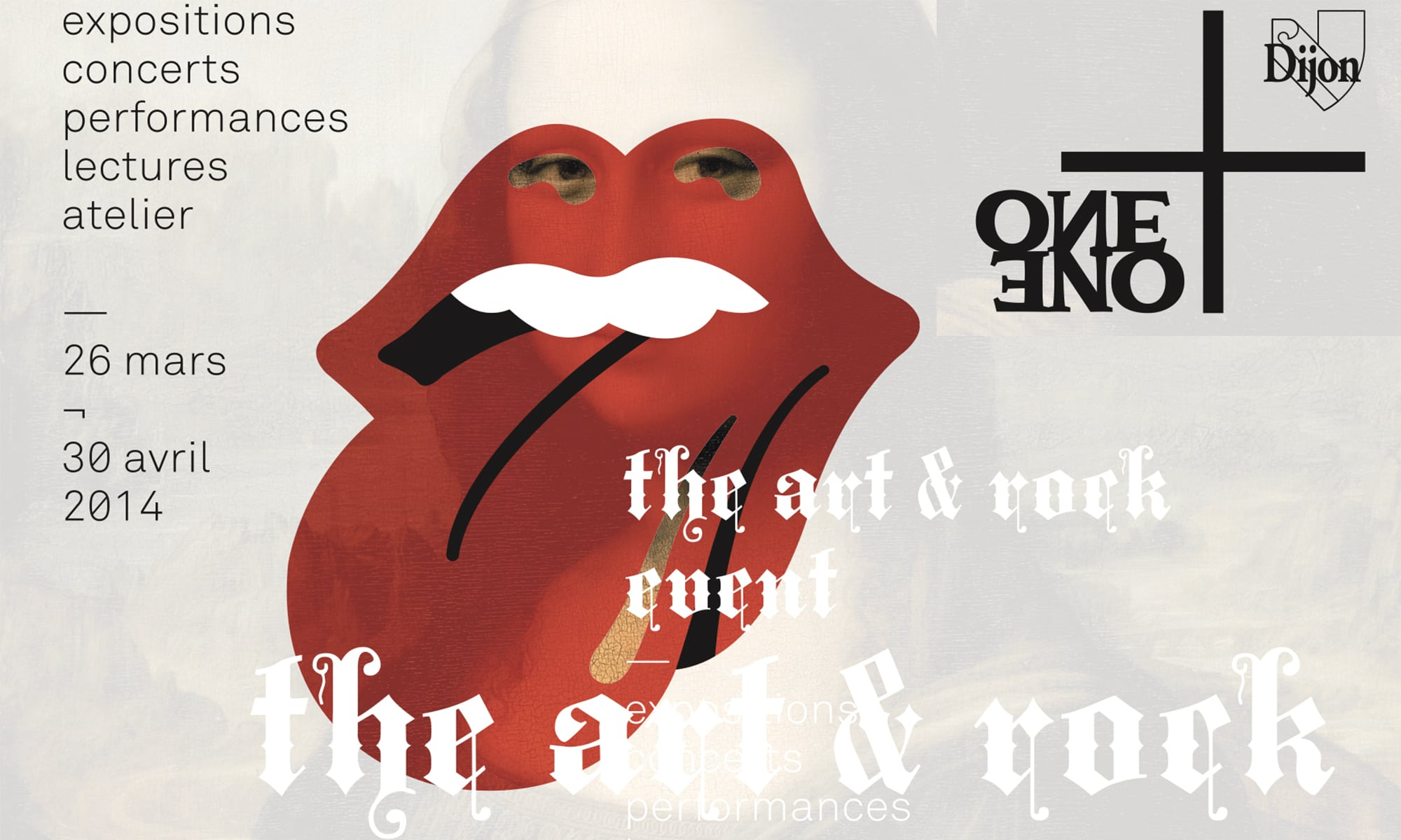 One + One: de l'art… rock