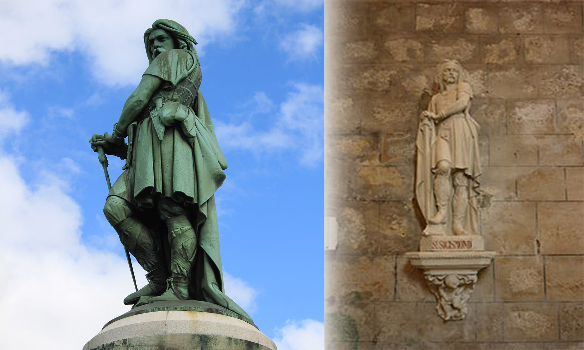 Vercingétorix, sosie d'un saint et monument historique