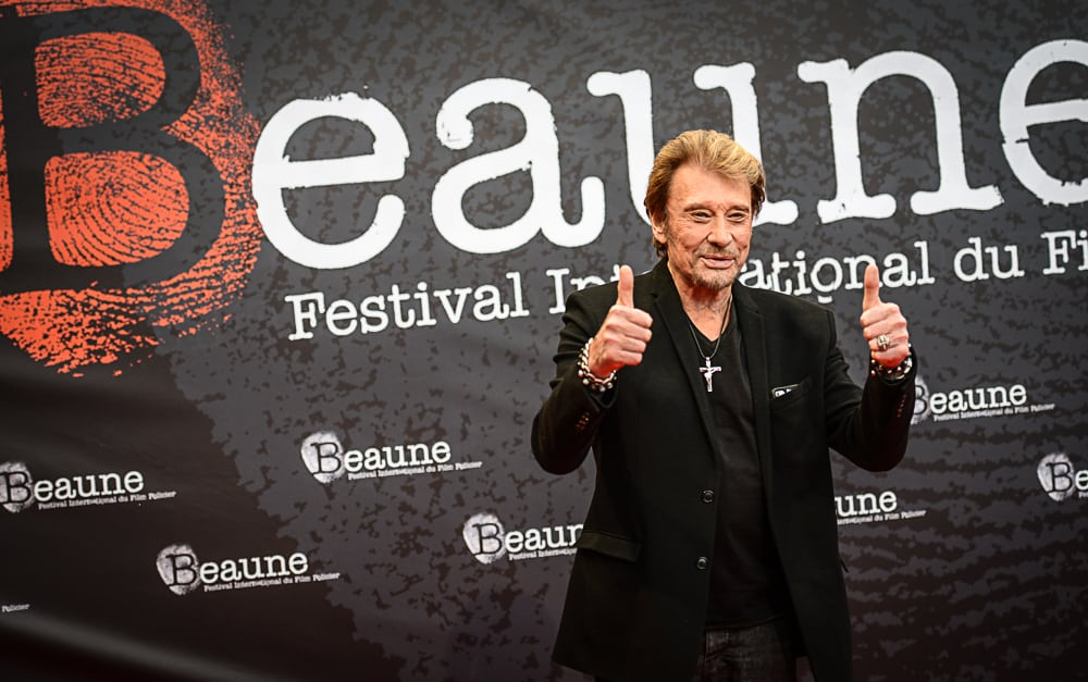 Johnny à Beaune: un salaud très applaudi