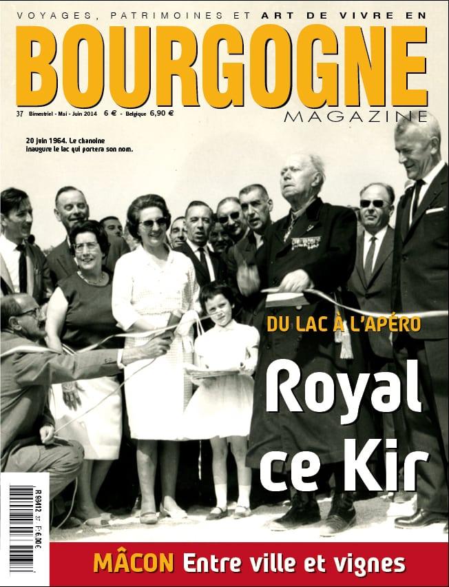 Bourgogne Magazine, royal ce Kir!