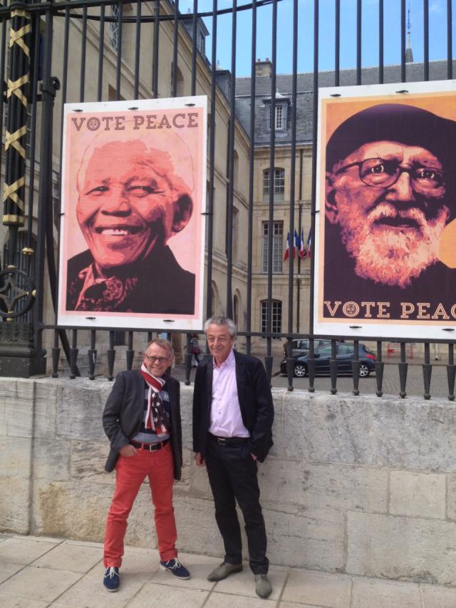 Street art: les Climats «chassent» la Paix