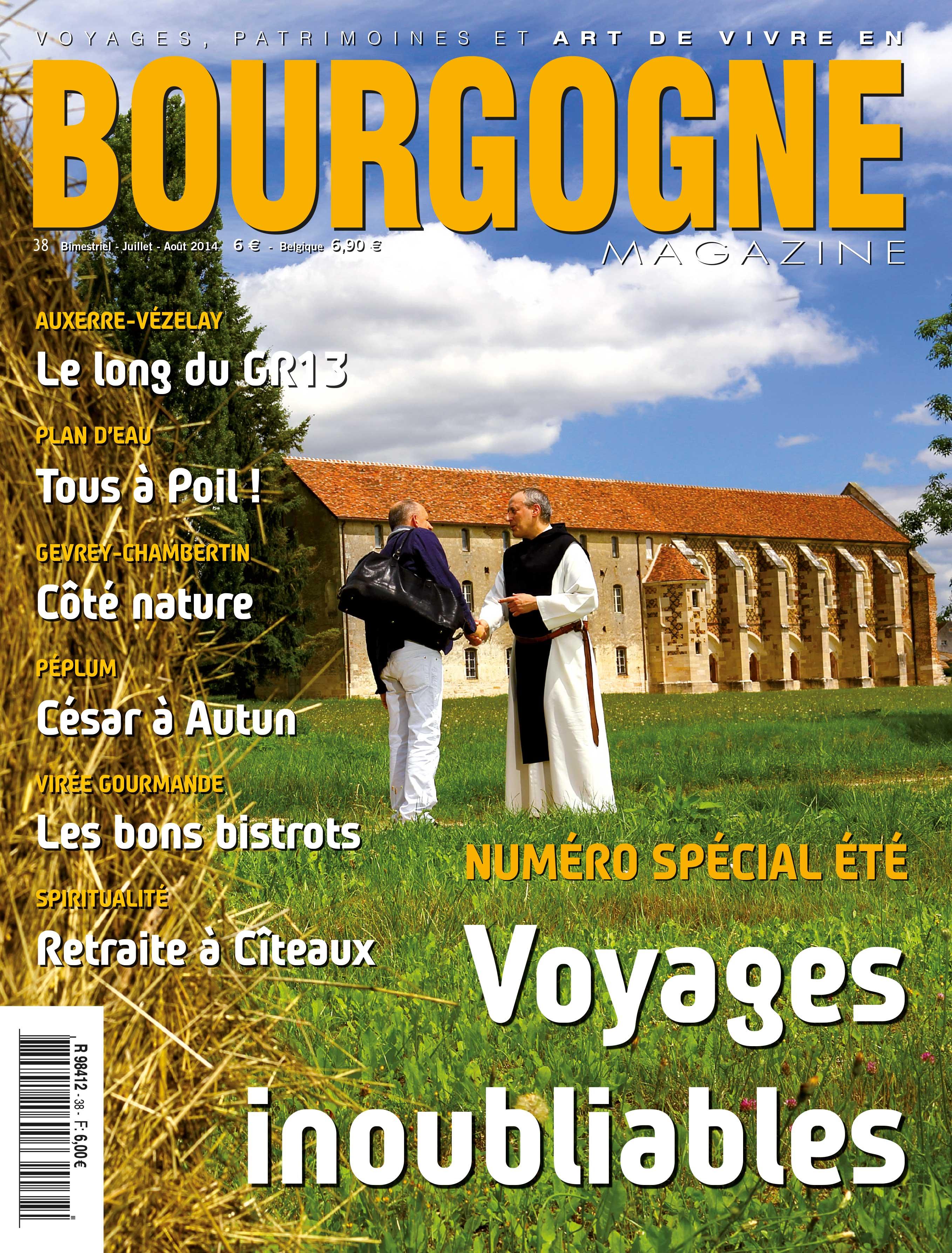 En kiosque: les voyages inoubliables de Bourgogne Magazine
