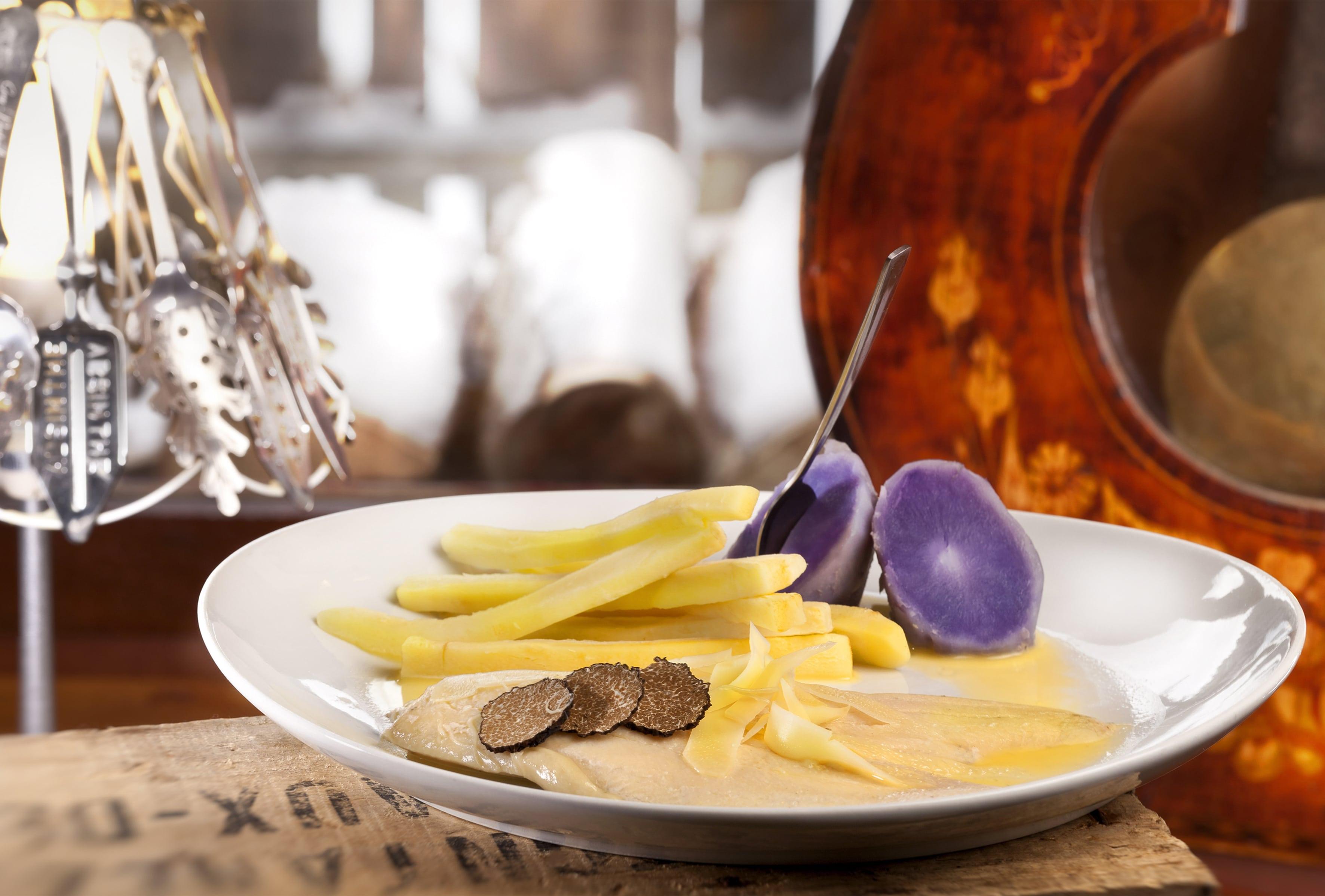La recette du week-end. Omble chevalier au comté et à la truffe de Bourgogne