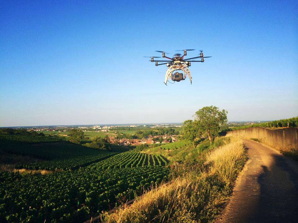 L'avenir de nos vignes sous le regard des drones