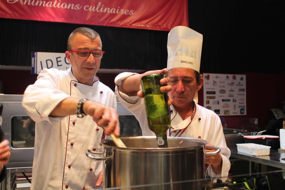 Les cuisiniers de Côte-d'Or au four et au moulin