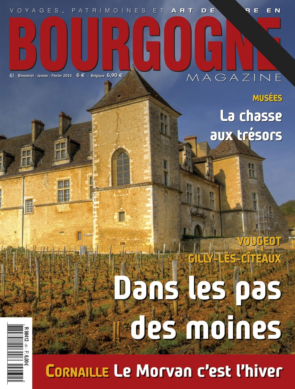 Bourgogne Magazine prie Saint-Vincent