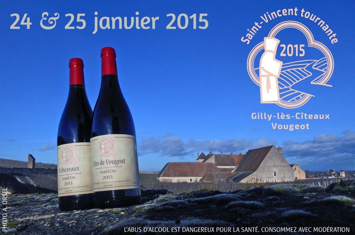 Echezeaux et Clos de Vougeot au programme de la Saint-Vincent!