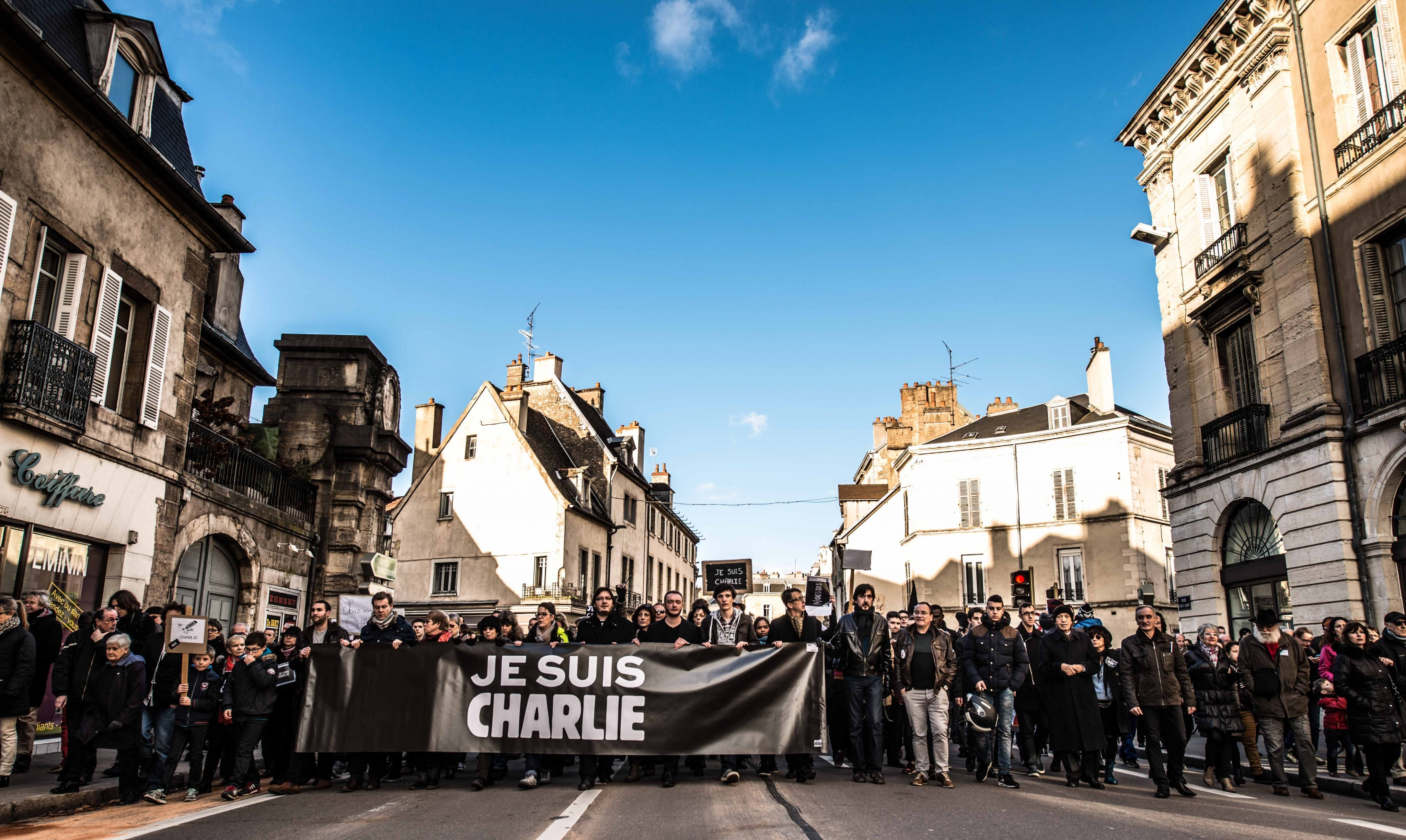 Le «Charlie-rama» de Dijon