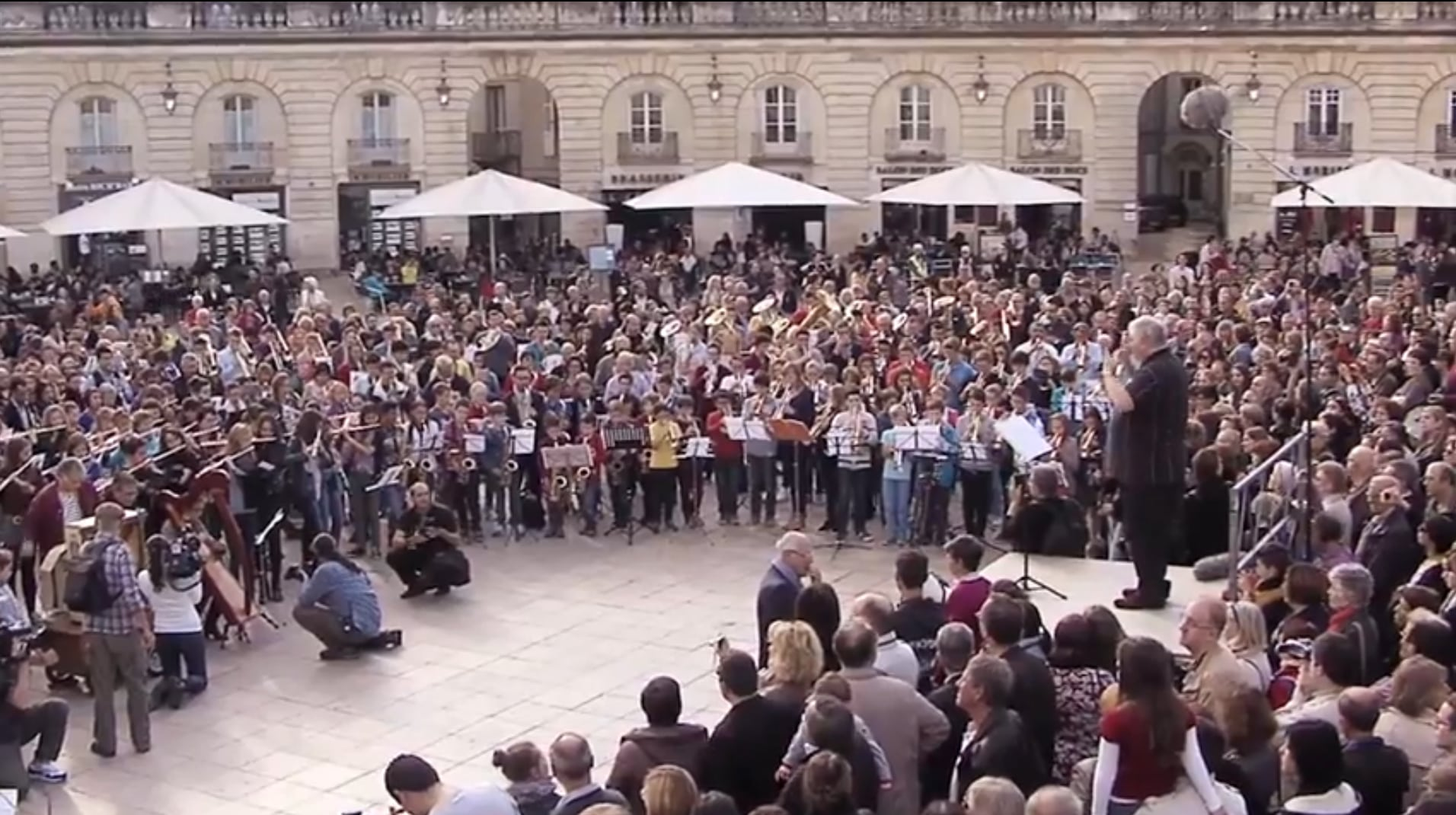 Rameau à Dijon: inoubliable flashmob