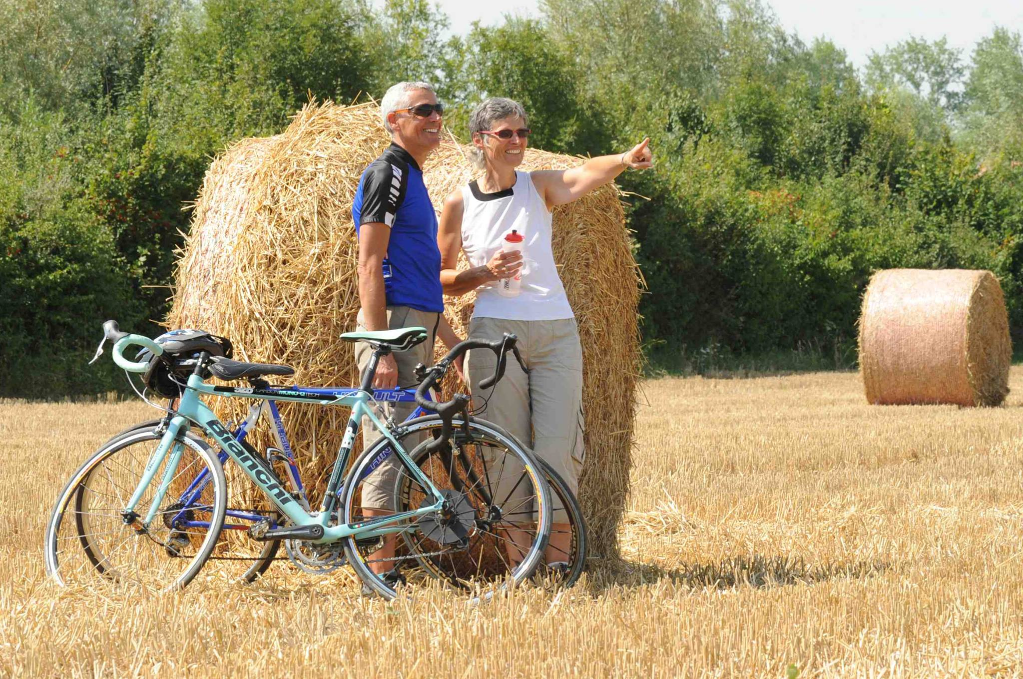 Fête du vélo, venez en bleu