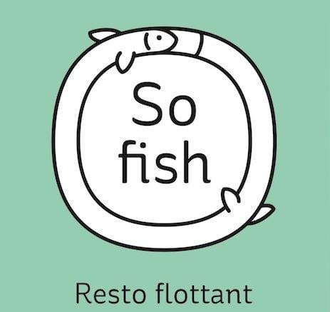 Péniche Cancale: Il est frais mon poisson!