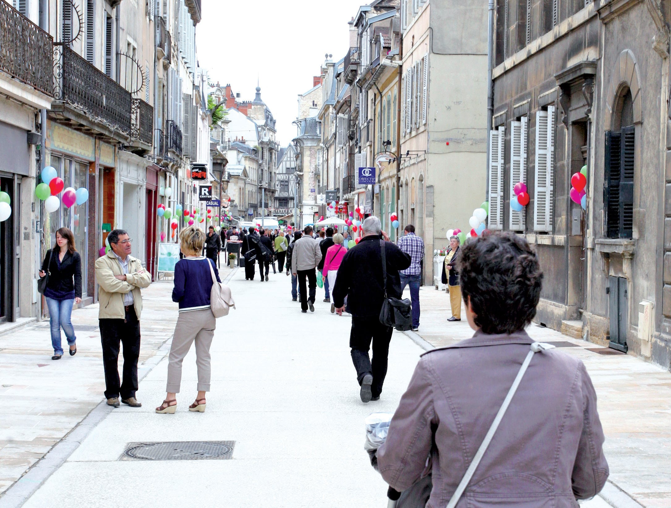 Dijon: Rue des Godrans, l'artère du sang neuf