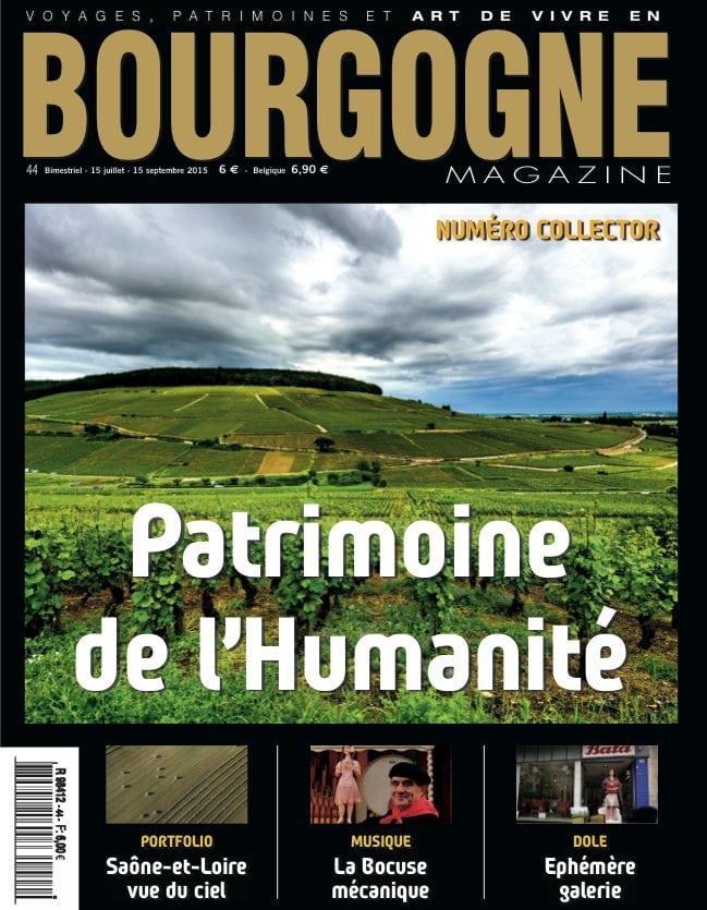 Bourgogne Magazine est en kiosques!