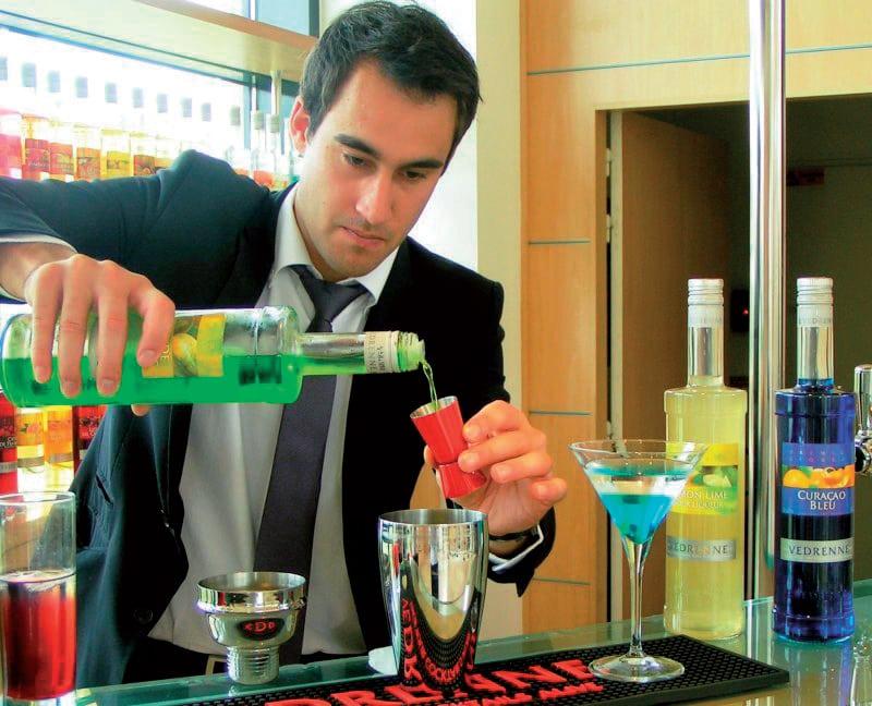 Explosion de cocktails au Cassissium