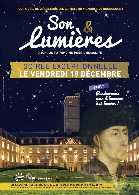Dijon illumine les Climats de Bourgogne