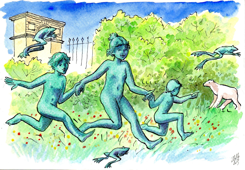 Poésie: la fontaine de jeunesse, toujours elle