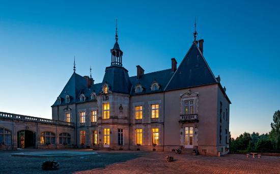 Le château de Sainte-Sabine, au top de la Saint-Valentin