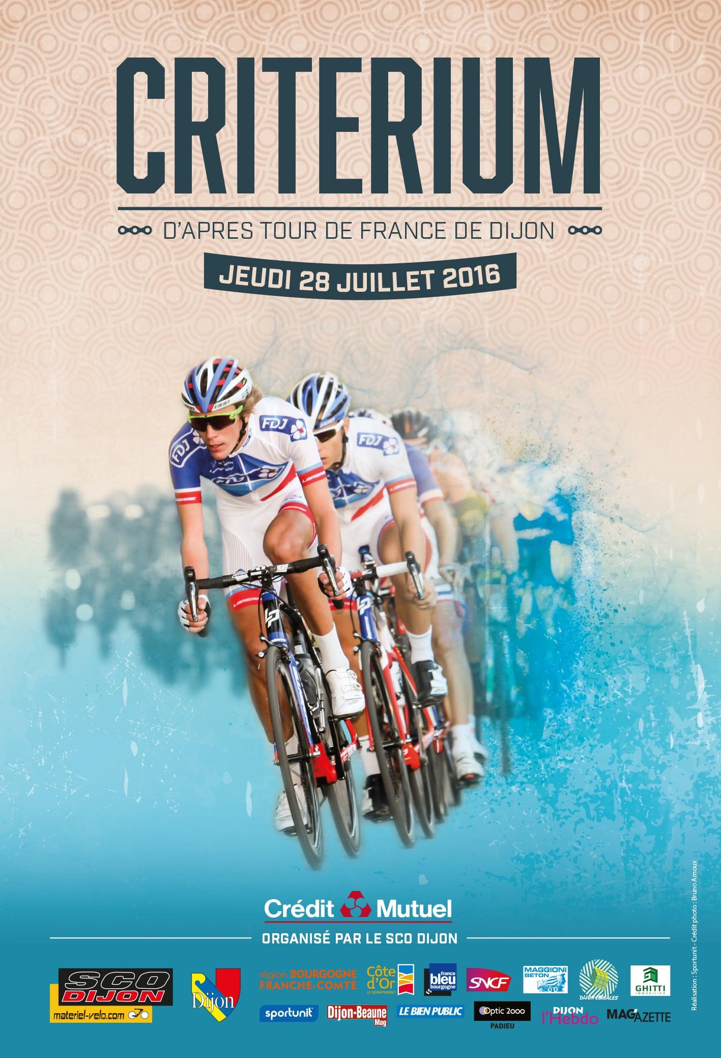 Critérium d'après Tour à Dijon: ce soir, c'est la fête au vélo