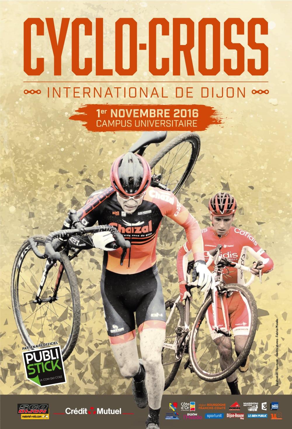 Cyclo-cross international de Dijon : tous au campus mardi !