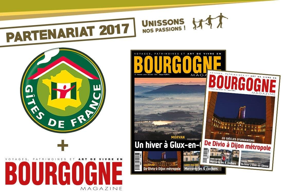 Gîtes de Côte-d'Or et de Nièvre, unissons nos passions !