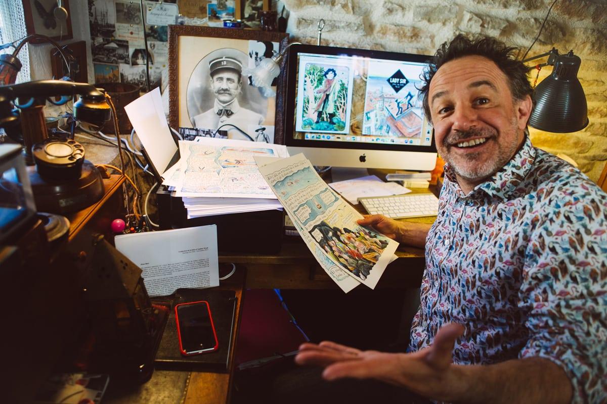 Livres en Vignes : Fred Bernard fait buller la Côte