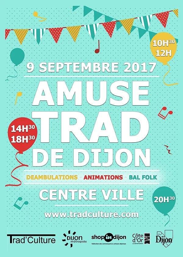 L'Amuse Trad fera danser Dijon samedi 9 septembre