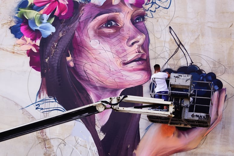 Street Art on the Roc : déjà un succès !