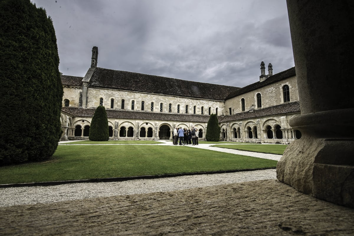 William Christie à l'abbaye de Fontenay