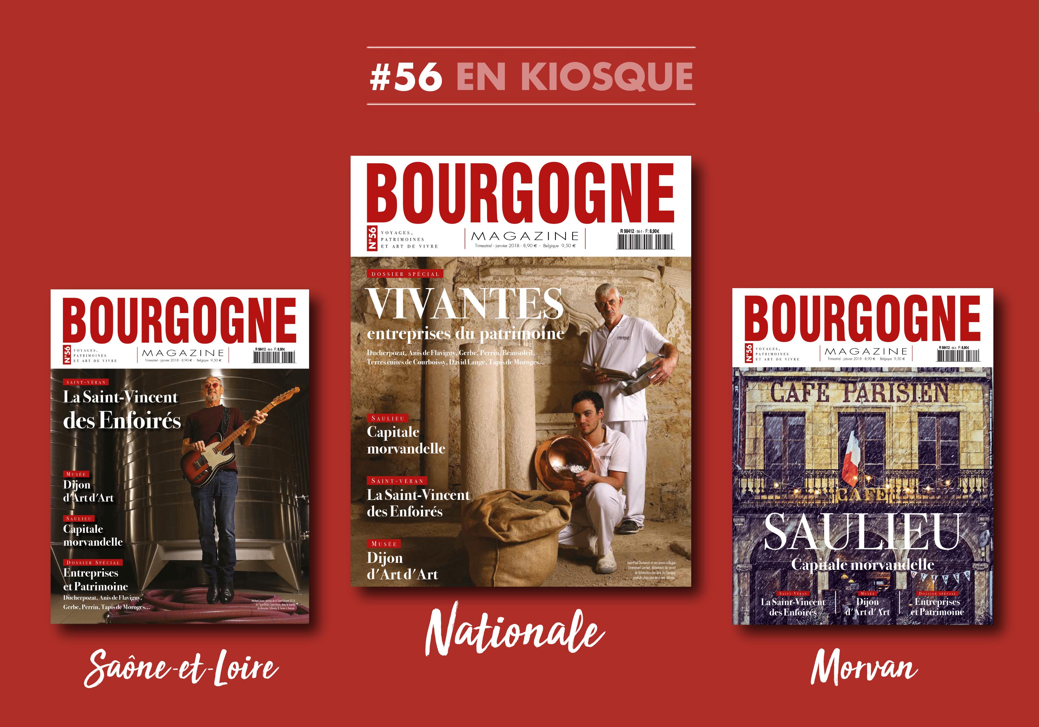 Bourgogne Magazine fête la Saint-Vincent, Saulieu et les Entreprises du Patrimoine Vivant