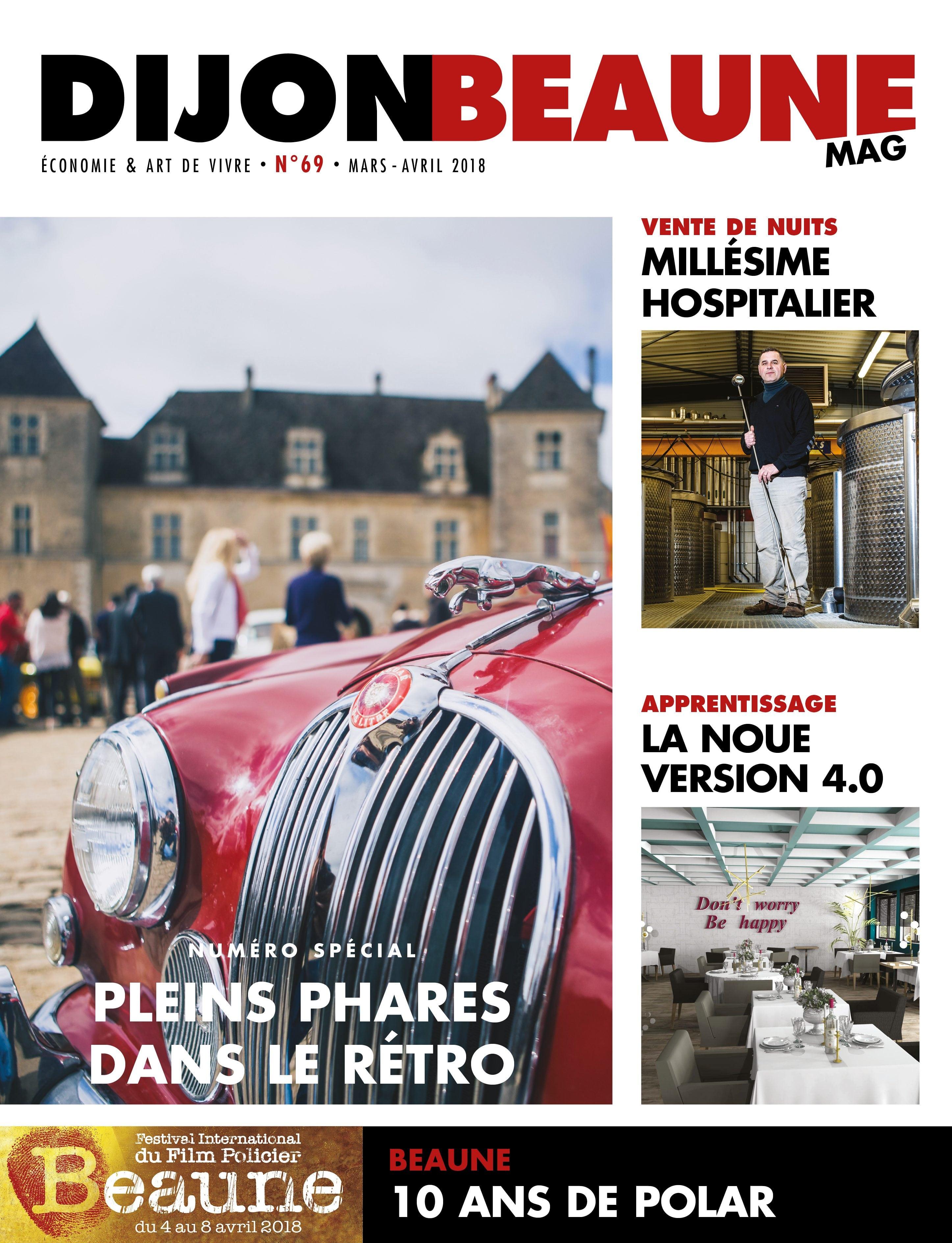 Dijon-Beaune Mag #69 arrive à fond la caisse