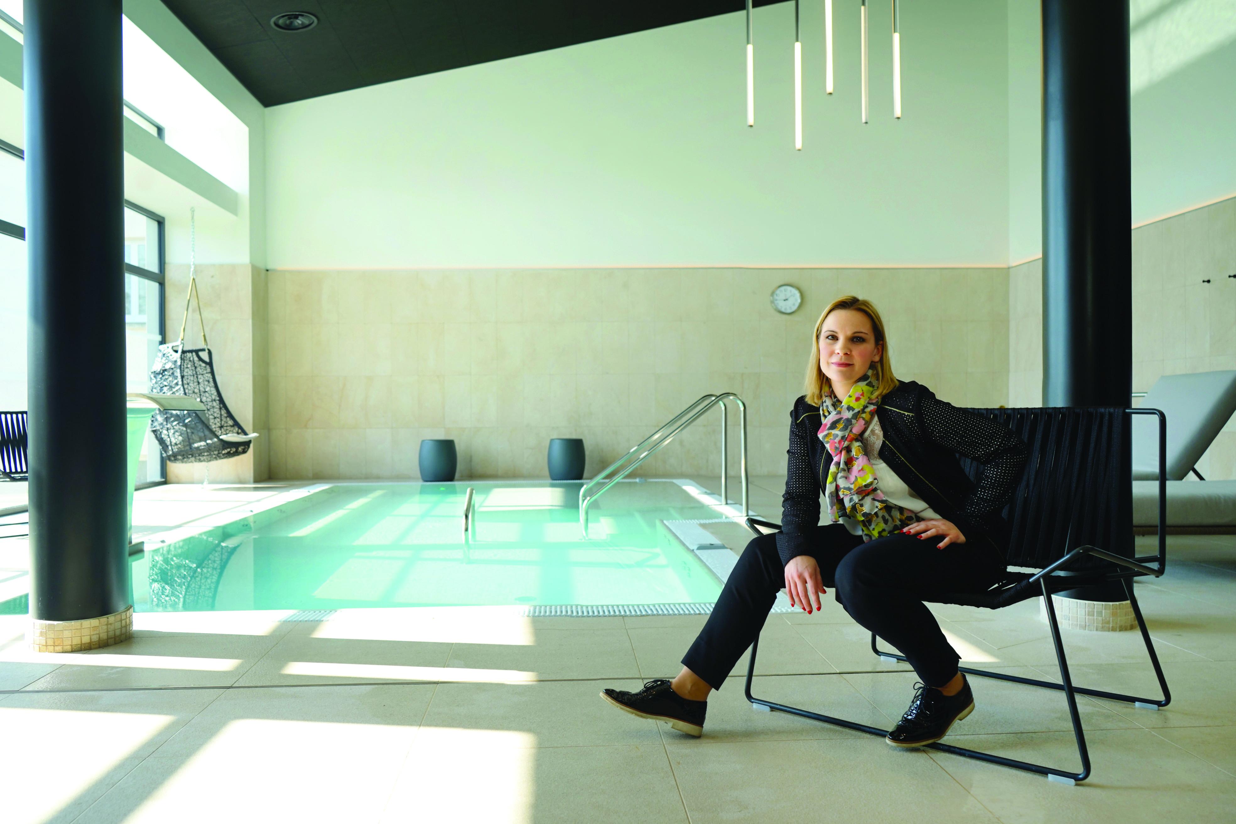 Lucie Mongeard (Le Richebourg), hyperactive relaxée