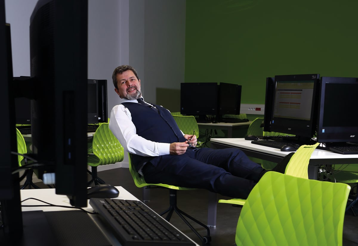Alain Tomczak, profession directeur-trader