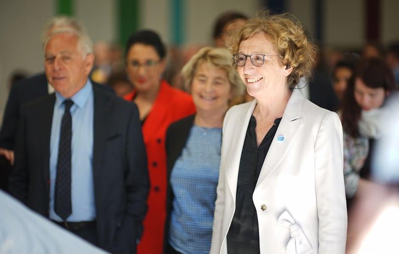 Muriel Pénicaud à l'École des Métiers, première pierre d'un apprentissage nouveau