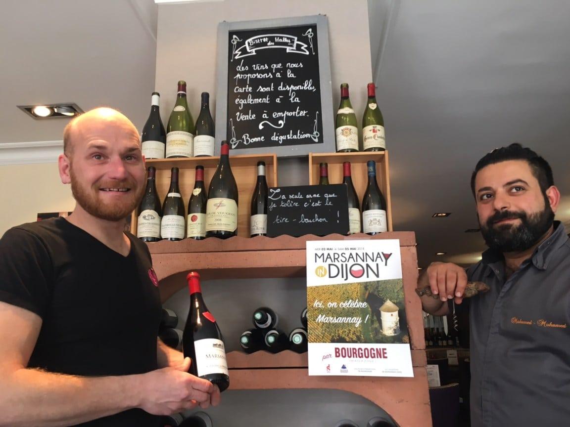 Marsannay in Dijon : 3 jours en blanc, en rouge et en rosé