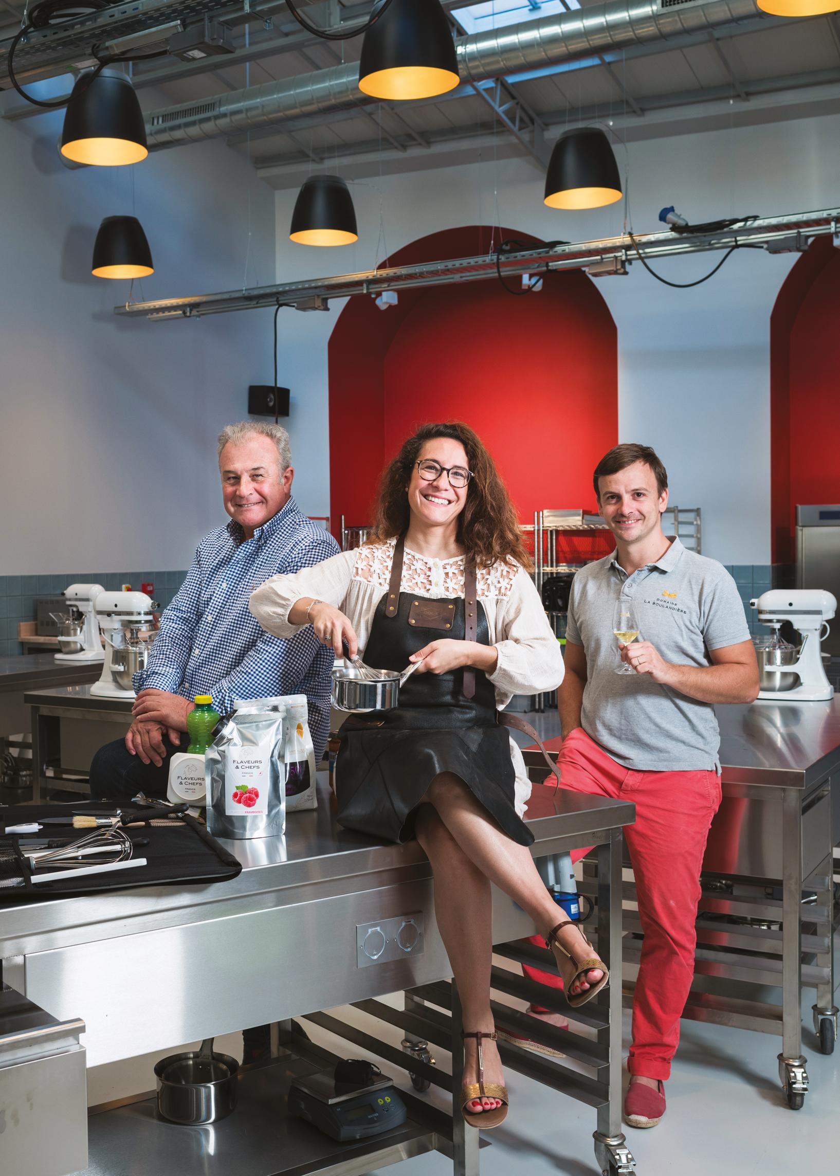 Flaveurs & Chefs, l'école qui va faire «pâtisser» Beaune