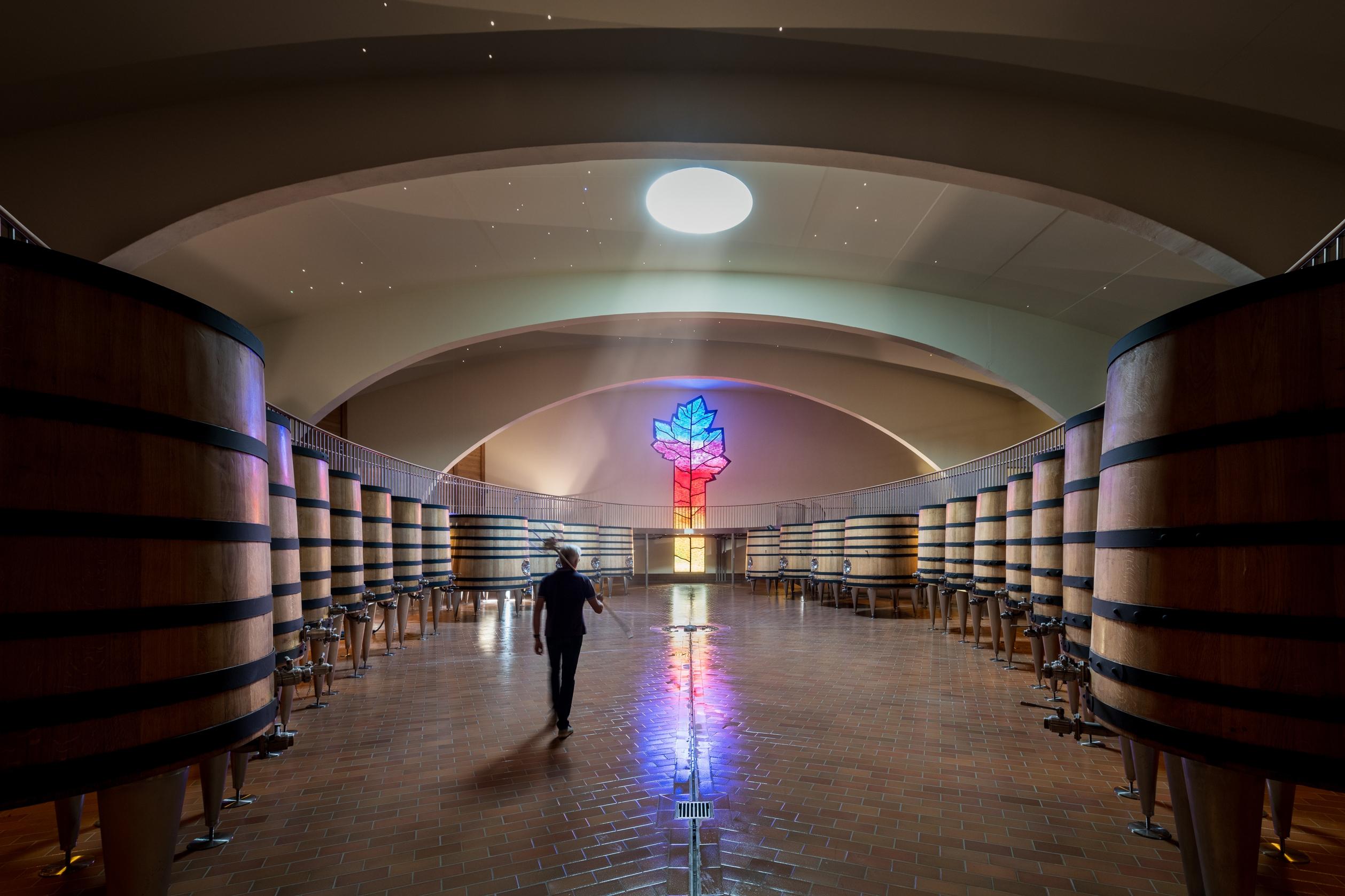 L'extraordinaire nouvelle cuverie Boisset à Nuits-Saint-Georges