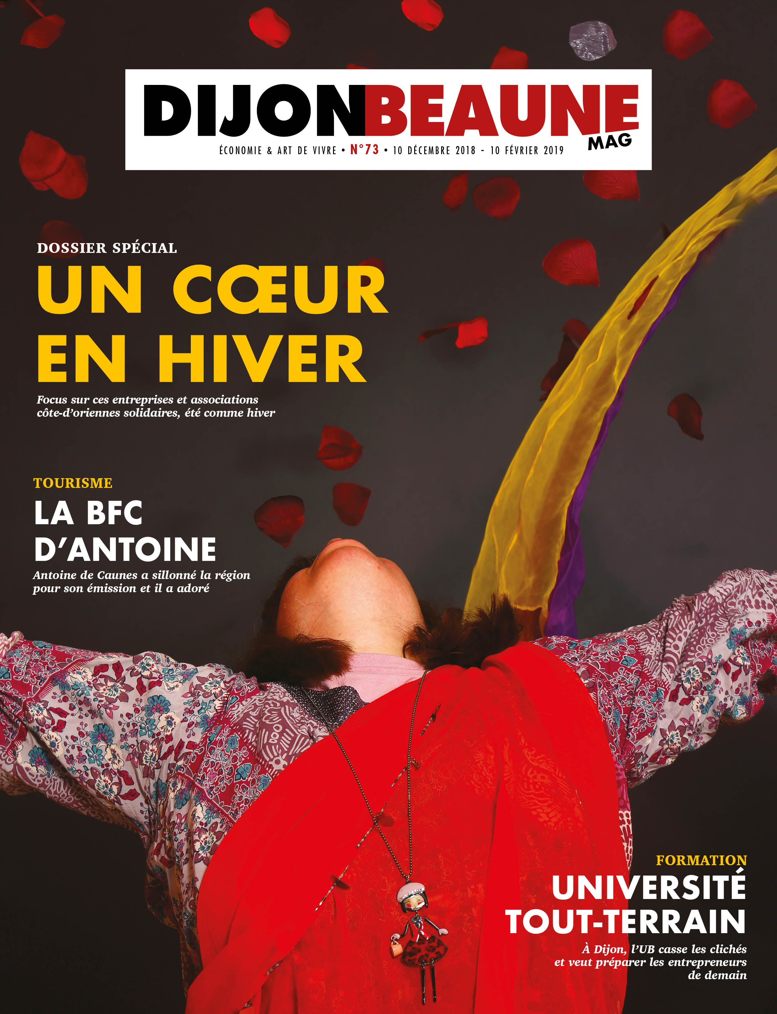 Dijon-Beaune Mag #73 parle solidarité et «Gilles et John»