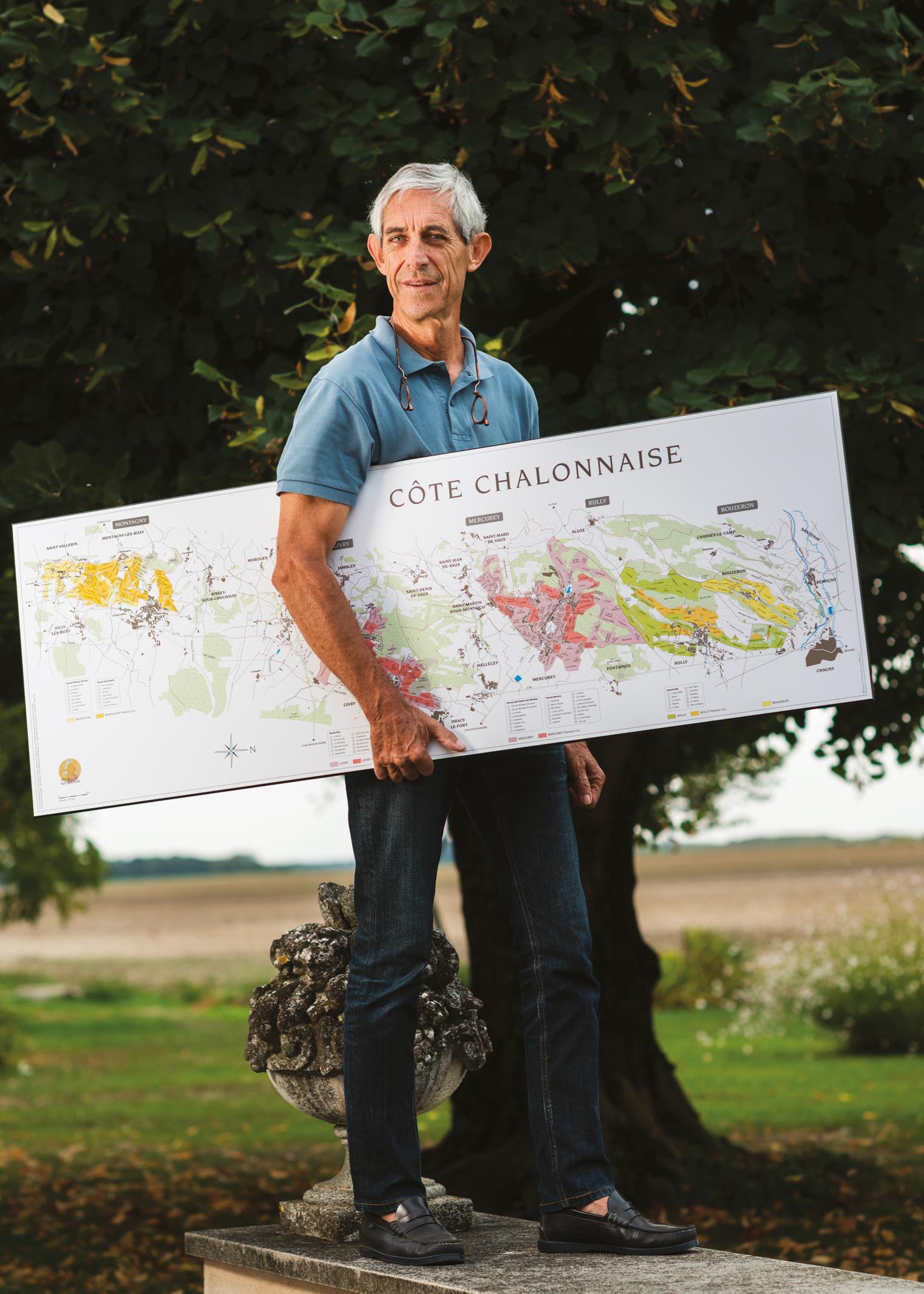 Sylvain Pitiot, topographe-vigneron des climats
