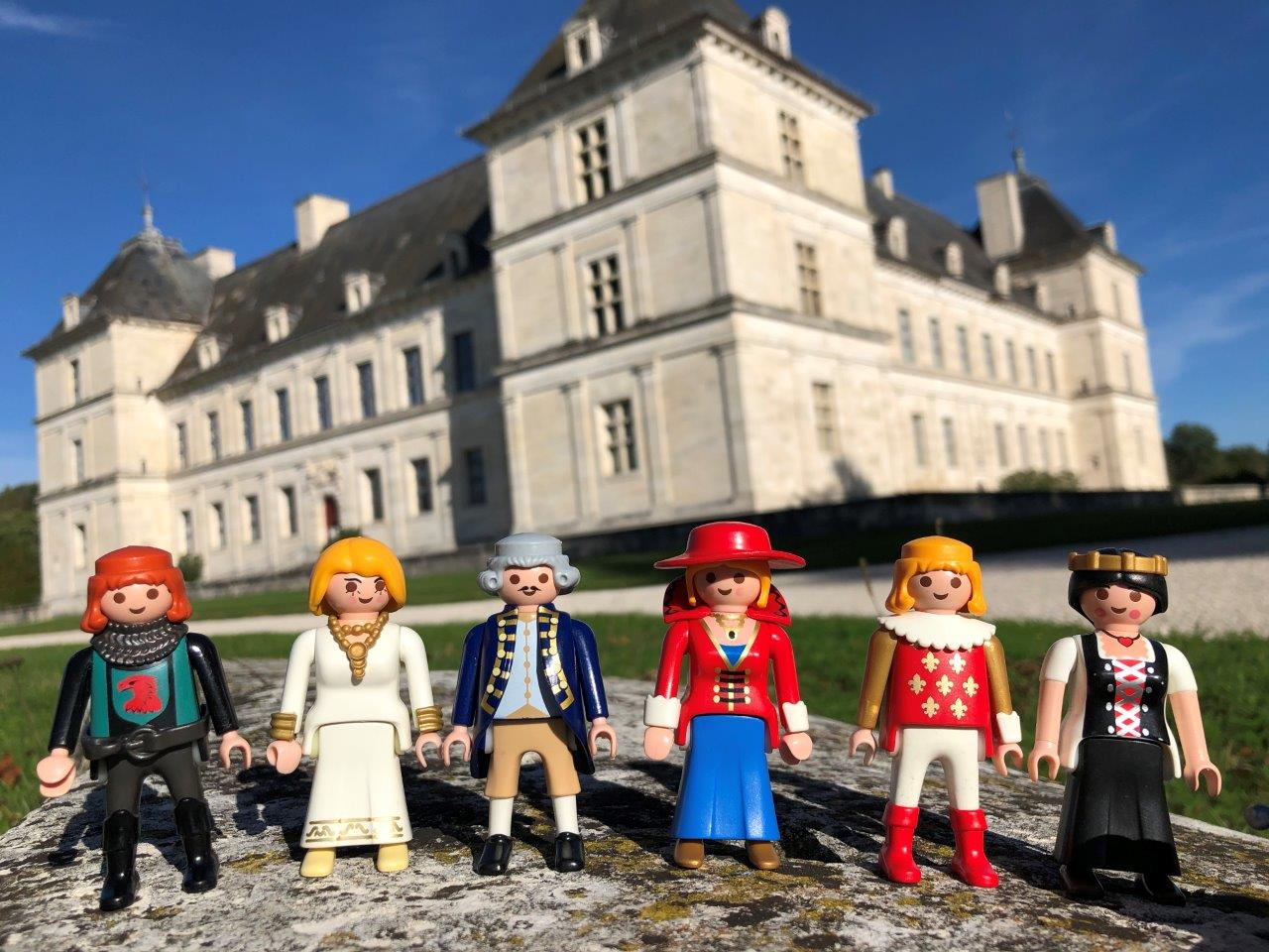Playmobil, en avant l'histoire au château d'Ancy-le-Franc !