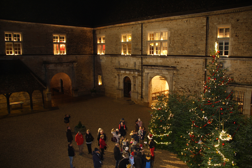 Ça brille au château du Clos de Vougeot !
