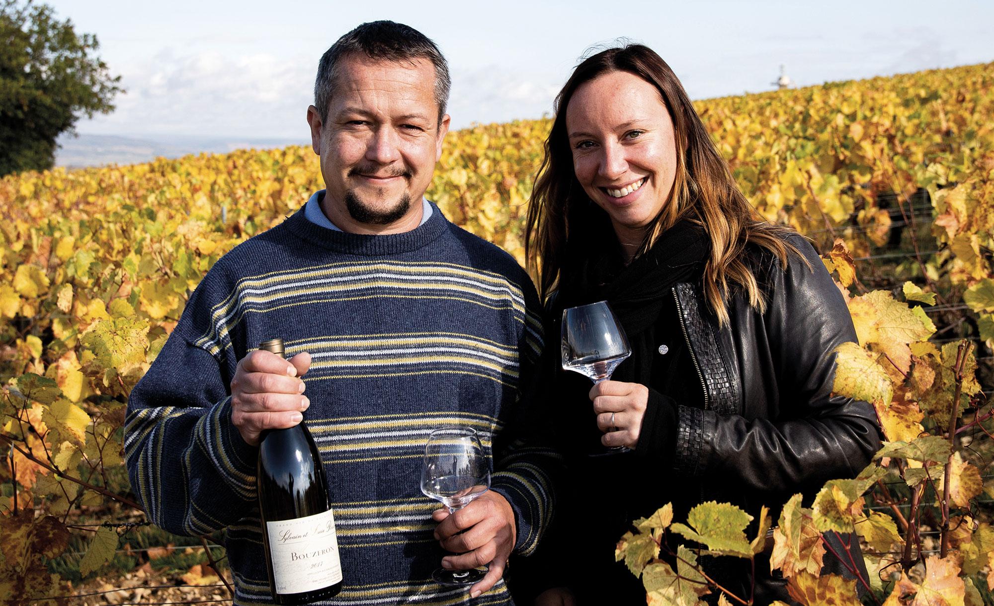 Sylvain et Lucie Ponsot, amoureux de la Côte chalonnaise