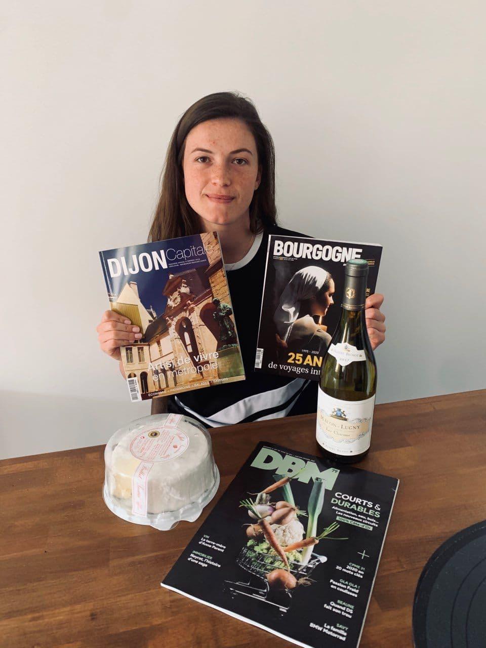 La fromagerie Delin et les sportifs sur un plateau #4 : Manon Gravelle (JDA Dijon Handball)