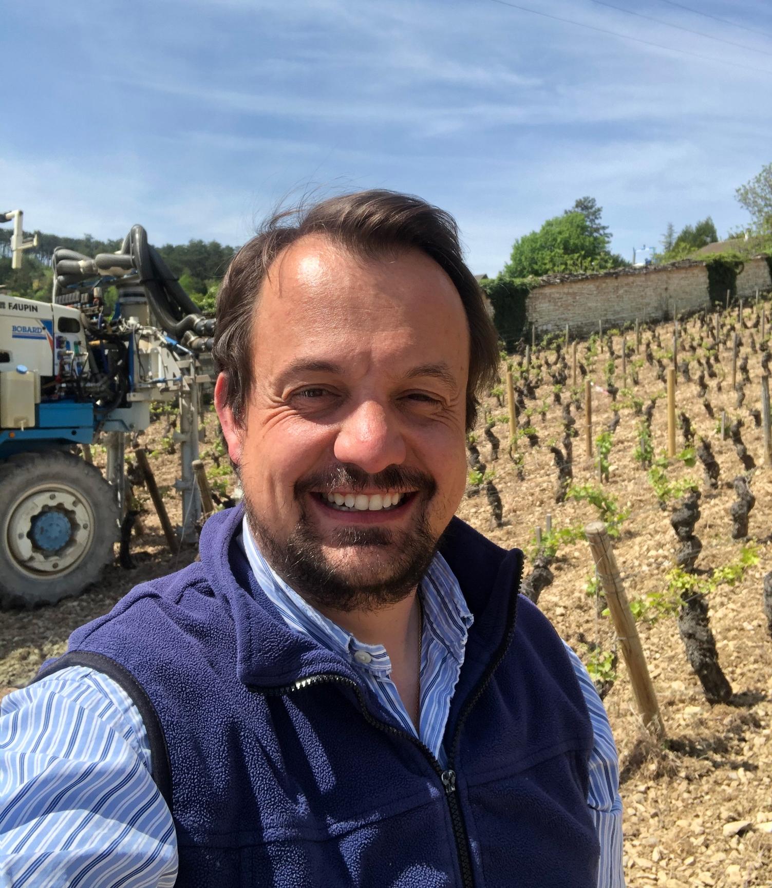 La vigne continue #3 : domaine Bitouzet-Prieur à Volnay