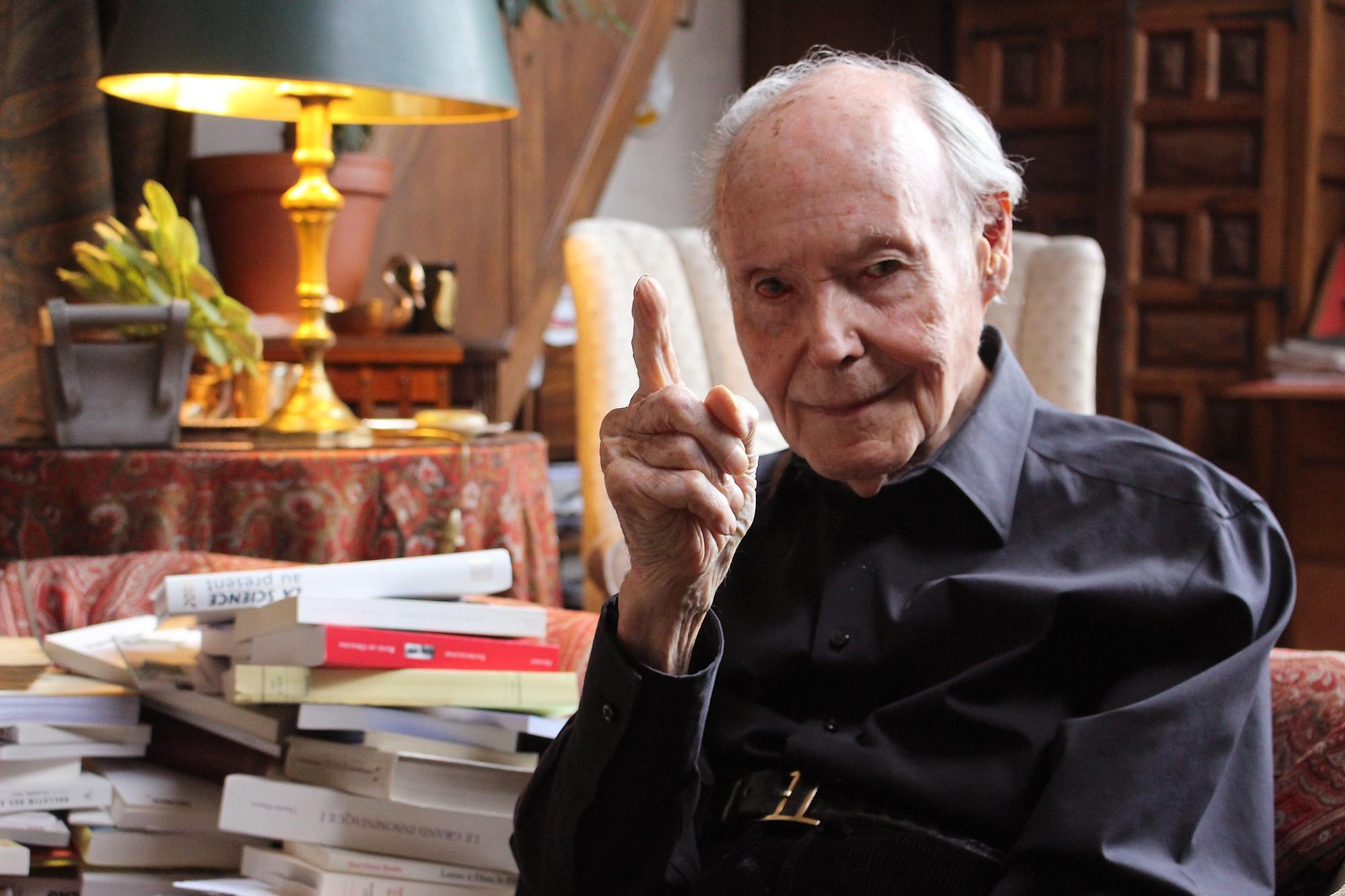 René de Obaldia, 101 ans, face au Covid : « Le plus extraordinaire, c'est d'être »