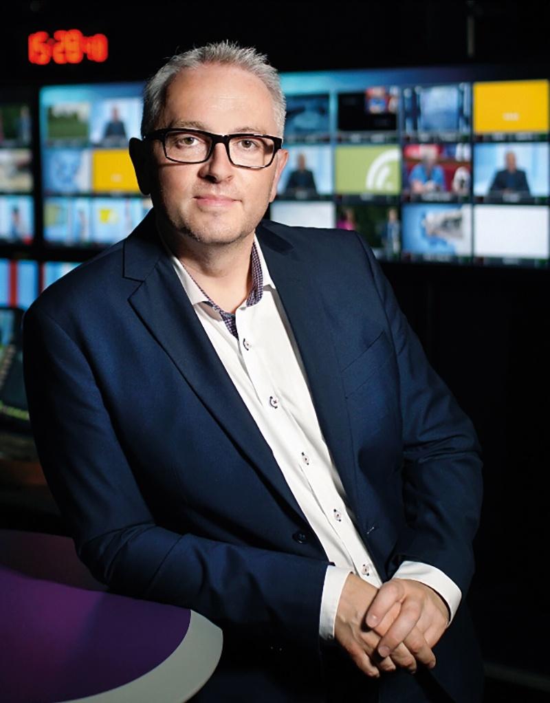 Samuel Peltier, directeur régional France 3 Bourgogne-Franche-Comté :  «La télévision n'est pas morte »